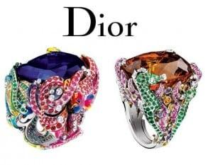 anillo de Dior