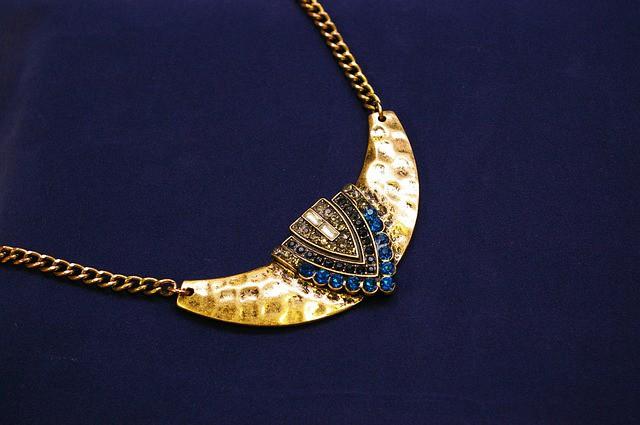 collar joya de oro