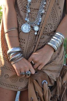 joyería de estilo boho