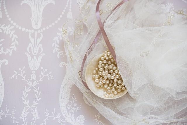 perlas de novia para boda