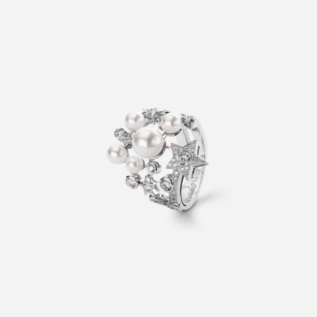 anillo comete de chanel