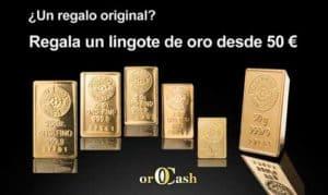 Comprar oro en lingotes
