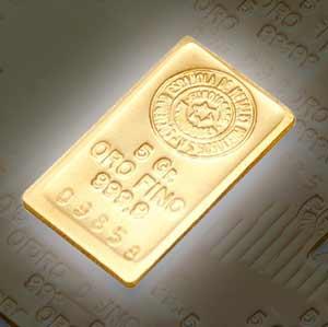 comprar oro lingote