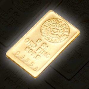 lingote oro 5 g